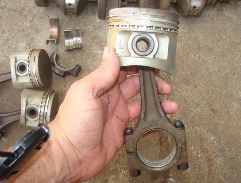 Retífica da Biela de Motor de Alumínio Nova Mauá - Retífica da Biela de Motor Importado