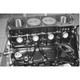montagem de cabeçote motor para caminhões Jockey Club