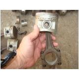retífica da biela de motor de alumínio Brooklin