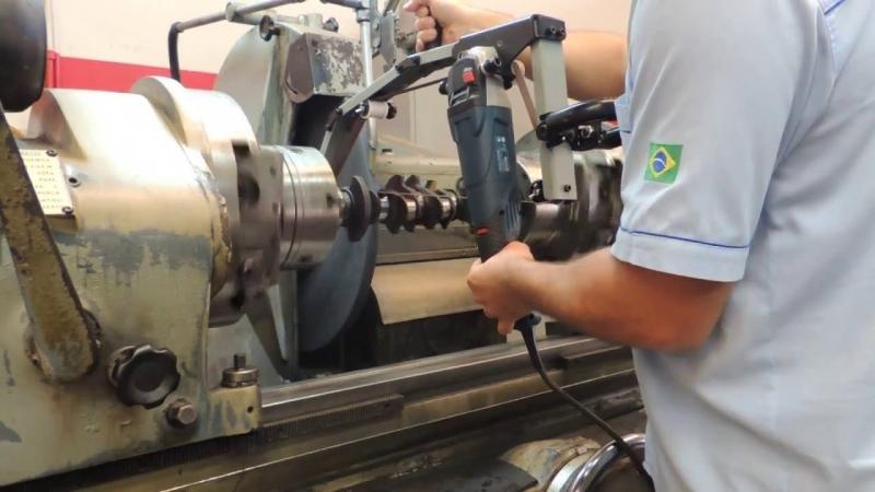 Usinagem de Eixo Virabrequim Preço Santo André - Retífica de Virabrequim para Carro Antigo