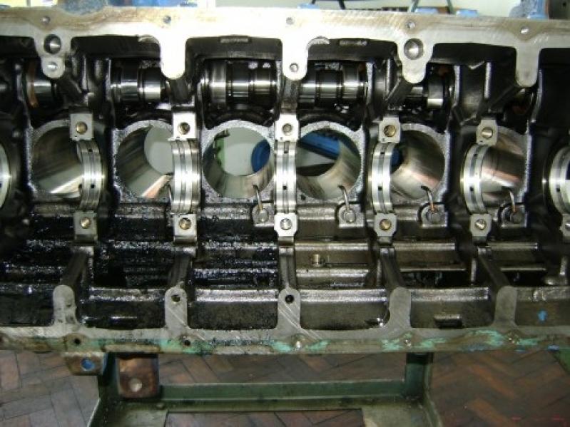 Usinagens de Motores Centro - Usinagem de Motor